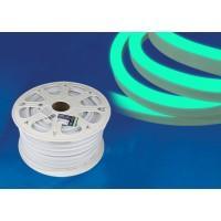Гибкий неон ULS-N21 зеленый 8W 220V IP67 120Led 2835 односторонний(50м), LED лента