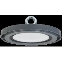 Светильник LED промыш.ДСП 5010 60W 6000lm 110град.(d230*48.5) 6500К IP65 IEK