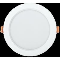 Светильник светодиод.Downl.ДВО 1802 PRO 20W 4000К(2000Im)бел.кругл.(195*50) IP40 IEK