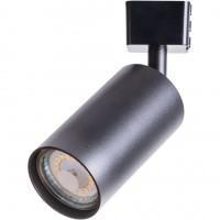 A1518PL-1BK Трековый светильник черный GU10-B 1х35W 220V