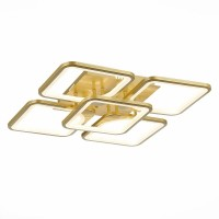SLE500422-05 Люстра потолочная Золото/белый Led 170W 3000-6000K