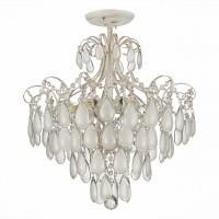 SLE160302-06 Светильник потолочный золото/белый матовый E14 6*60W