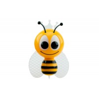 Ночник NL-852 LED 0,5W 230V Пчелка RGB (130*90*87)
