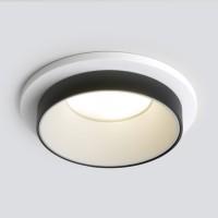 113 MR16 светильник встраиваемый/белый/черный