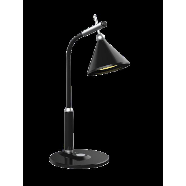 TL-240(B,черный настольный светодиод. св-к на подставке,7Вт.гибкая стойка)