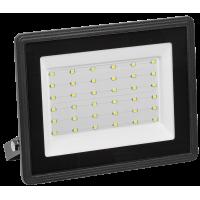 Прожектор СДО06-50 светодиодный черный IP65 4000K ИЭК