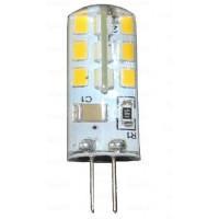 Лампа светодиод. LED 3W G4 220V 4000K  220lm (13*37), лампочка